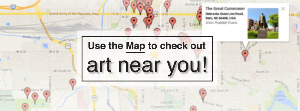 View the map of public art pieces